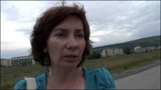 Наталья Эстемирова в Грозном