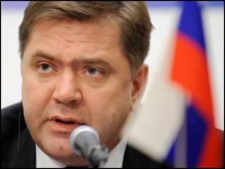 سرگئی شماتکو، وزیر انرژی روسیه