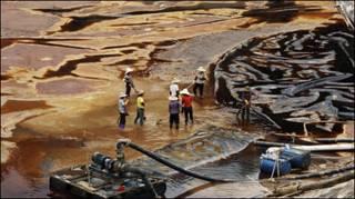 Ô nhiễm ở nhà máy đồng Thượng Hàng, Phúc Kiến (ảnh tư liệu)