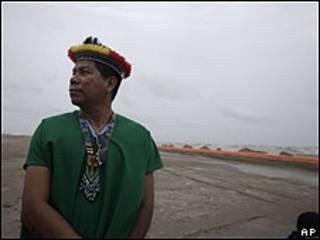 Humberto Piaguaje, tribú indígena de Secoya en Ecuador