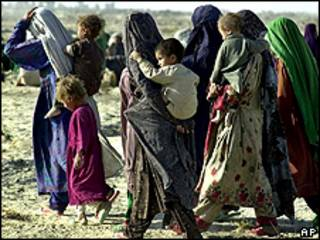 Refugiados afegãos em Zahedani