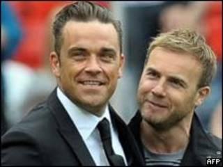 Robbie Williams ve Gary Barlow