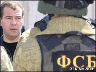Дмитрий Медведев в Дагестане