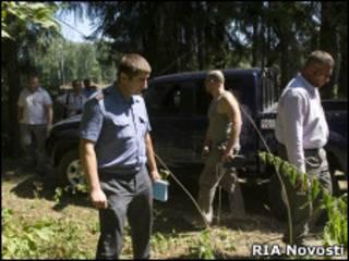 Милиция в Химкинском лесу