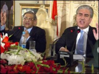 وزرای امور خارجه هند و پاکستان