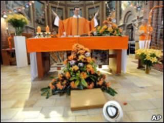 A missa realizada por Paul Vlaar