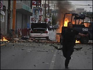 بمب گذاری در خوارز مکزیک