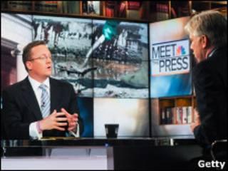 Пресс-секретарь Белого дома Роберт Гиббс в программе телеканала Эн-би-си