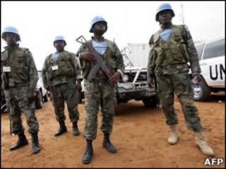 Wanajeshi wa UNAMID