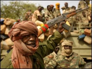 Wanajeshi wa serikali huko Darfur