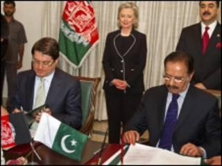 اتفاق بين باكستان وأفغانستان
