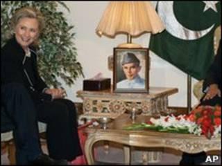 Hillary Clinton di Islamabad