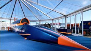 Bloodhound SSC. Foto Nick Haselwood.