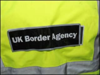 Куртка с эмблемой пограничной службы Британии