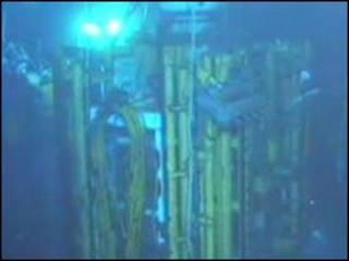 Gelembung gas di sumur minyak