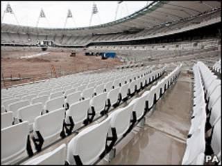 Una de las sedes de las olimpiadas