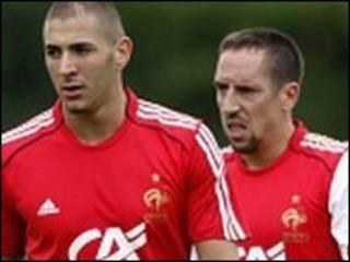 Karim Benzema da Franck Ribery
