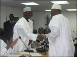 INEC na neman a daga lokacin zabe