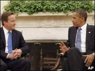 David Cameron dan Barack Obama