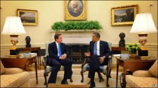 Барак Обама и Дэфид Кэмерон
