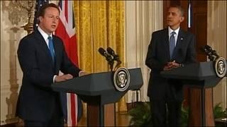 Thủ tướng Cameron và Tổng thống Mỹ Obama