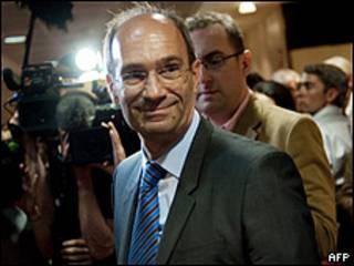 Eric Woerth, ministro de Trabajo francés
