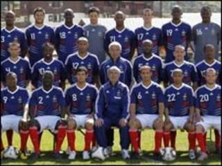 फ्रांस की फुटबॉल टीम