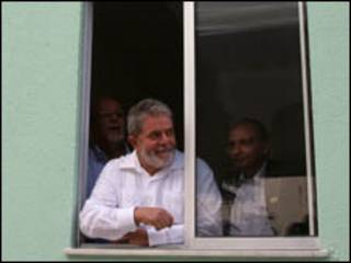 O presidente Luiz Inácio Lula da Silva durante inauguração em Feira de Santana, BA, nesta sexta-feira (Foto: Ricardo Stuckert / PR, 23 de julho)