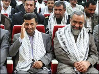 غلامرضا نقدی و محمود احمدی نژاد
