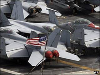 Aviones militares estadounidenses