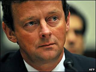 Tony Hayward, presidente ejecutivo de BP