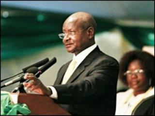 Madaxweynaha Uganda Yuweri Museveni