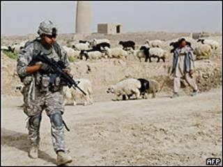 امریکايي پوځيان په افغانستان کې