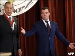 Медведев и Лавров