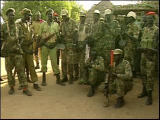 Боевики в Судане