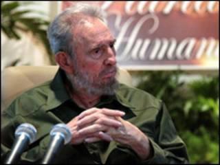 Fidel Castro, expresidente de Cuba.