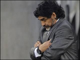 Maradona ametimuliwa kama kocha wa Argentina