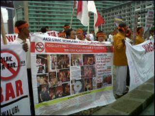 Protes Budha Bar