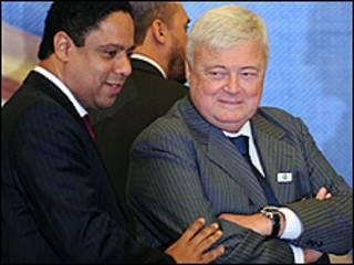 Orlando Sila e Ricardo Teixeira (direita) crédito: Agência Brasil
