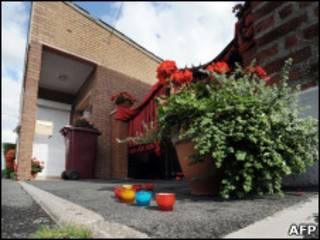 Casa do casal onde foram encontrados 6 dos 8 corpos de recém-nascidos