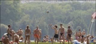 Ola de calor en Bielorusia