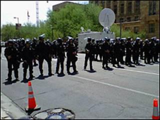 Protesta en Phoenix, Arizona