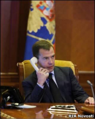 Shugaban Rasha Dmitriy Medvedev