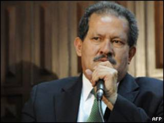 O vice-presidente eleito da Colômbia, Angelino Garzón (AFP, 22 de julho)