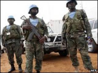 Wanajeshi wa UN Sudan