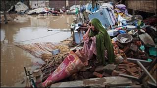 Người dân Pakistan sau lũ