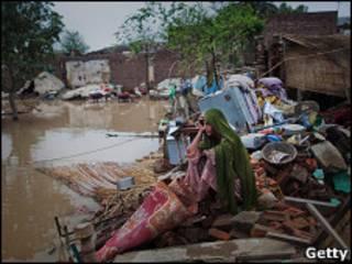Inundação no Paquistão