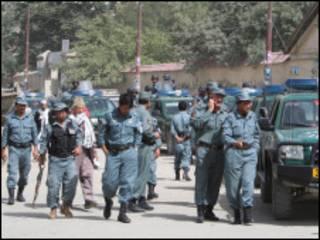 افغان پوليس په کابل کې