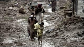 Floods victims