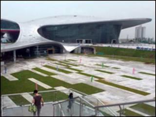 محل برگزاری بازی های آسیایی در چین